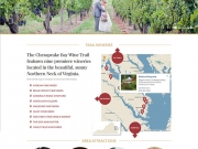 Refresh Web Design Portfolio | Chesapeake Bay Wine Trail